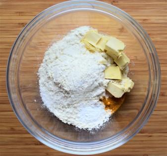 Quiche dough ingredients