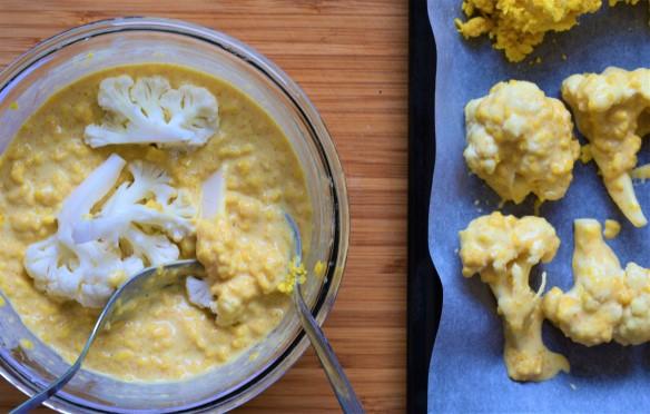 How to make vegan crispy cauliflower bites